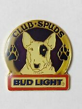 New listing Bud Light Beer Spuds Mackenzie Club Spuds Lapel Pin