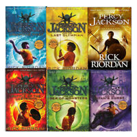 Rick Riordan Percy Jackson and the Olympians 6 Books Collection Set BRAND NEW