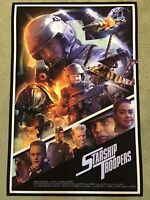 Starship Troopers Paul Verhoeven Aliens Movie Art Print Poster Mondo Rich Davies