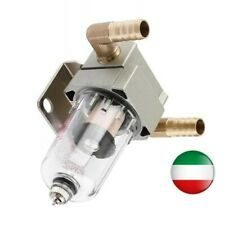 Serbatoio recupero vapori olio benzina diesel decantatore + filtro tappo scarico