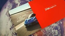 Ferrari F8 Tributo Brochure ENG/IT - SEALED - 59pgs