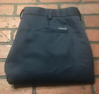 Izod Golf Casual Pants Navy Blue Men's Size 38 x 30