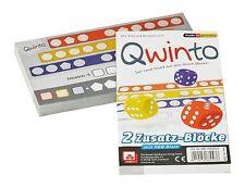 Qwinto - Zusatzblöcke 2er Set - Nürnberger Spielkarten 4038
