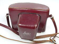Leicaflex sl2 duro funda de cuero Ever Ready case + cinturón incl. Strap también para I + SL
