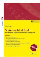Hillmoth, B: Steuerrecht aktuell 2/2017 von Peter Mann, Benno L'Habitant, Annett