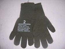 new pair military wool gloves made USA size 2 men SM-MED cold weather glove
