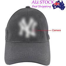 1080P Spy HD Hidden Camera Hat Covert Video Recorder Wireless Remote Control ER