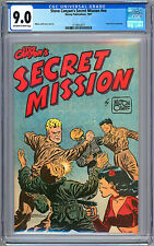 STEVE CANYON'S SECRET MISSION #NN CGC 9.0 KOREAN WAR PROMO HARVEY FILE COPY 1951