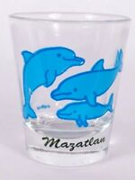 "Mazatlan Mexico Dolphins 2.25"" Collectible Shot Glass"