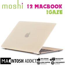 "Moshi iGlaze Clear Hard Shell Slim Case For New 12"" MacBook | Lightweight Cover"