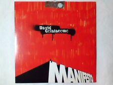 DAVID COLAIACOMO Manifesto cd singolo PR0M0 RARISSIMO