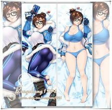 Hot Game Overwatch Dr. Mei-Ling Zhou Dakimakura Hug Body Pillow Cover Case 150cm