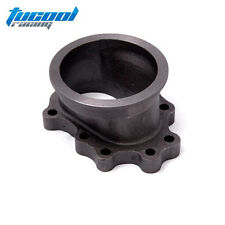 """T25 T28 GT25 Turbocharge Downpipe 8 Point 3"""" V-band Cast Iron Flange Adapter"""