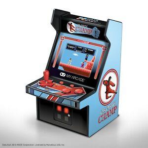 "My Arcade Karate Champ Micro Player - 6.75"" Collectible Retro Arcade Machine"