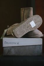 Bearpaw 608 W Emma Short Hickory Womens Casual Boots 8.5 (New in Box!)