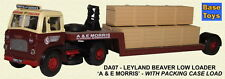 Base Toys Leyland Beaver Lowloader with Crates DA07-Spec OO Scale (suit HO also)