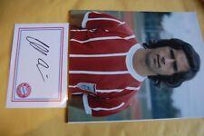 Bayern Monaco GERD MULLER firmato progettato carta bianca con 10X8