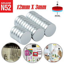 25pc Super Strong Round Disc Magnets Rare Earth Neodymium Magnet N52 12 X 18