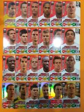 Panini Adrenalyn XL World Cup 2010 set all 24 cards UK edition