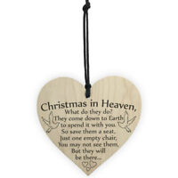 Christmas in heaven what do they do sign plaque words of love remembrance xmas