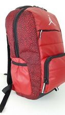 NWT NIKE AIR JORDAN All World Backpack SchoolLaptop Red ElephantPrint 9A1640-RK2