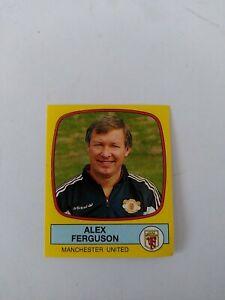Panini Football 88 Sticker-Alex Ferguson-Manchester United-#140-Rookie-Unused