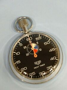 Vintage Heuer Yacht Timer Stopwatch Working Condition