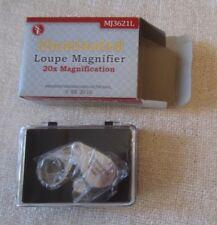 SE Illuminated Loupe LED, 20x, 21mm, MJ3621L, Pocket size with plastic case