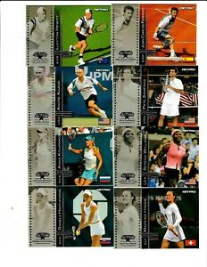 2003 Netpro Tennis Débutant Complet 90 Carte Set! Federer-Nadal-Serena-Seles