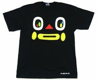 NERD N.E.R.D. Face Image Black T Shirt New Official Pharrell Williams