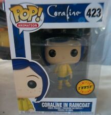 Pop! Animation Coraline In Raincoat # 423 Limited Chase Edition New In Box