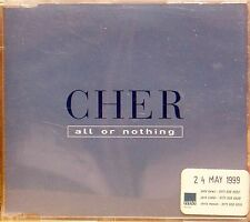 CHER 'ALL OR NOTHING' PROMO 1-TRACK CD SINGLE