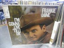 Frankie Laine I'm Gonna Live Till I Die vinyl LP 1969 Harmony Records Sealed