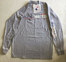 New York NY Mets M Long Sleeve Majestic Official MLB Merchandise New with Tags