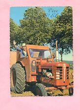 CARTE POSTALE - VIVE ST / SAINT ELOI - TRACTEUR AGRICOLE BOLINDER MUNKTELL