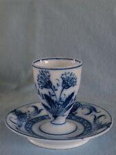 Antiker Eierbecher egg cup Fischer & Mieg Pirkenhammer um 1870