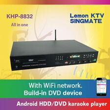 Lemon Android KTV KHP 8832 Vol 6 5TB HDD 45000 Vietnamese English karaoke Player