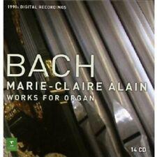"MARIE-CLAIRE ALAIN ""WORKS FOR ORGAN"" 14 CD NEU"