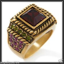 Heidi Daus Timeless Beauty Ring SZ6 STAND OUT IN A CROWD PC WOW!!!!
