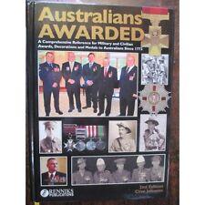 Australians Awarded War Medals, Military & Civil Awards Boer War WW1 WW2 +++++++