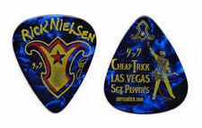 Cheap Trick Rick Nielsen Las Vegas Blue Pearl Guitar Pick - 2009 Tour