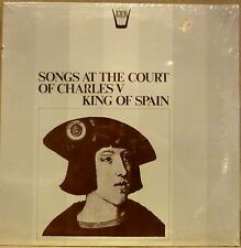 SEALED Arion Renaissance LP SONGS AT THE COURT OF CHARLES V KING OF SPAIN
