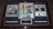 """Ichiro Suzuki Rare Signed And Framed Baseball Magazine JSA Coa. """"3000 Hits!!"""""""