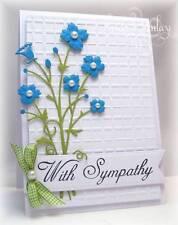 Memory Box BELLA BOUQUET thin metal die, flower, Made in USA