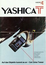 Broschüre Prospekt Yashica T German