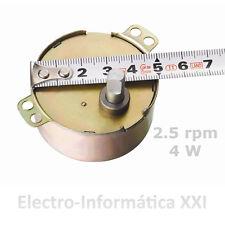 Motor Giro Lento 2.5rpm 4W 220V 50KTYZ-21 Volteo Incubadoras  Envio 24-72 Horas