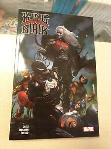 King In Black Marvel Graphic Novel Alternate Cover Limited To 100 Copies