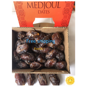 Dates Origanal From The Holy Land,And Jordan Valley Medjoul,Jumbo,Best Quallaty.