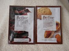 BE FINE FOOD SKIN CARE  NIGHT CREAM /EXFOLIATING CLEANSER  .34 OZ.  (LOT OF 2)