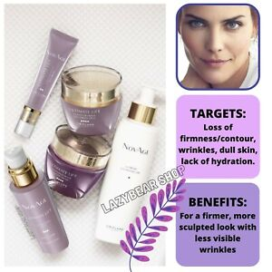 NovAge Ultimate Lift Contour Define Skin Care Set by Oriflame GIFT BOXED